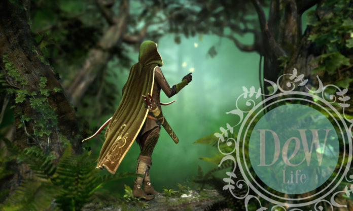 mystic image of robin hood in greenwood depicts our story of an oral surgeon