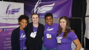 Hygienists for Humanity exhibitors at ADHA Annual Session in Columbus, June 2018