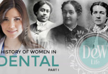 image of dental women in U.S. Dentistry history