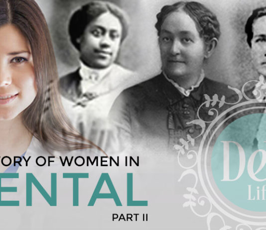 images of historic women in military dentistry for part 2 of series