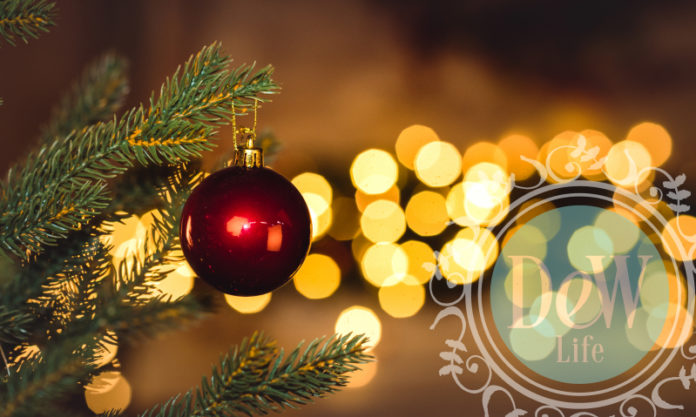 christmas decor highlights a holiday tradition